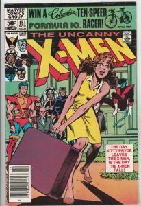 X-Men #151 (Nov-81) VF/NM High-Grade X-Men