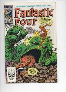 FANTASTIC FOUR #264 VF/NM Moleman Byrne 1961 1984 Marvel, more FF in store