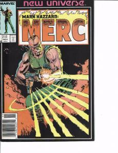 Lot Of 2 Marvel Books Mark Hazzard:Merc #1 and PSI Force #1   ON2