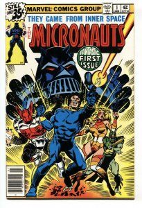 Micronauts-#1  First Issue marvel  1978 VF/NM