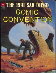 San Diego Comic Convention 1991-Arargones-Carl Barks-Alex Toth-Eisner-Woggon-FN-