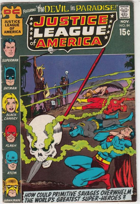 Justice League of America #84 (Nov-71) VF+ High-Grade Justice League of America