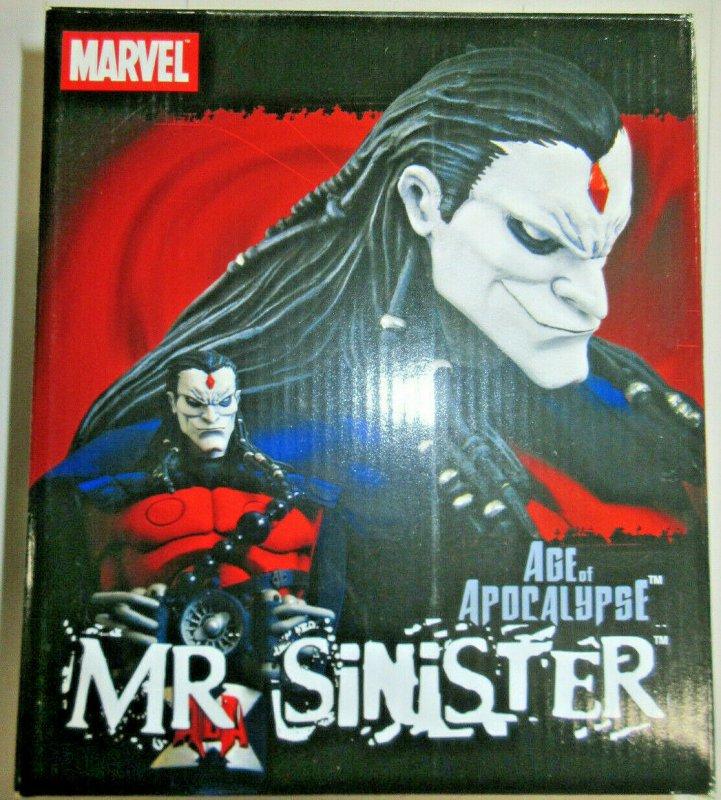 Age of Apocalypse Mr Sinister Marvel X-Men Art Asylum Diamond Select Toys