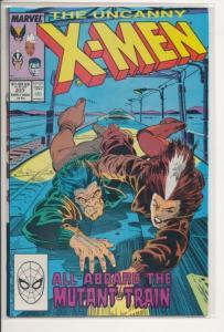 Marvel Comics The Uncanny X-Men #237 Fine/Very Fine (7.0) (765J)