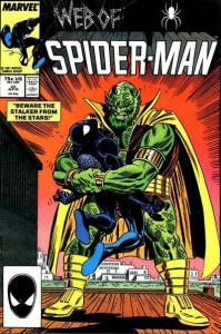 Web of Spider-Man (1985 series) #25, NM (Stock photo)