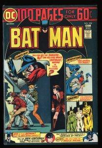 Batman #259 VF+ 8.5 Neal Adams Cover!