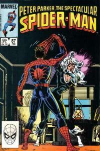 Spectacular Spider-Man (1976 series) #87, VF (Stock photo)