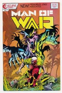 Man of War (1987 Eclipse) #1 NM