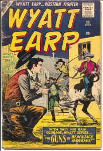 Wyatt Earp #23 1959-Atlas-John Severin-Dick Ayers-Joe Sinnott-P/FR