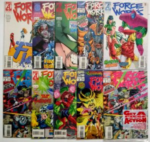 Force Works Comic Book Lot of (10)