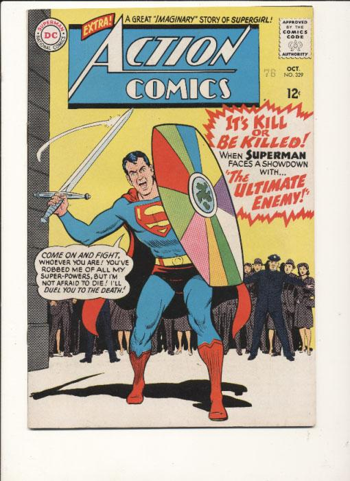 Action Comics (1938 series) #329, VF (Actual scan)