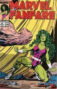 Marvel Fanfare (1982 series) #48, NM (Stock photo)