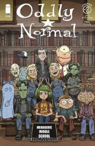 Oddly Normal (Image) #8B VF/NM; Image | save on shipping - details inside