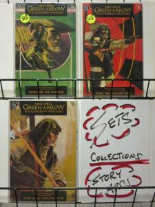 GREEN ARROW:LONGBOW HUNTERS 1-3 1st print Mike Grell classic