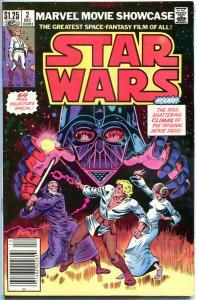 MARVEL MOVIE Showcase STAR WARS #2, VF, Darth Vader, 1982, more SW in store