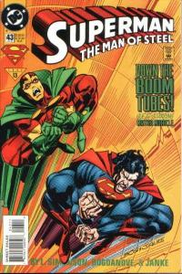 Superman: The Man of Steel #43, NM + (Stock photo)