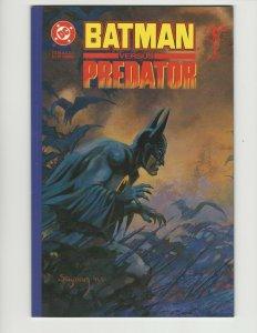 BATMAN VS PREDATOR #1-3 #1 2 3 COMPLETE MINI-SERIES DC DARK HORSE 1991 NM UNREAD