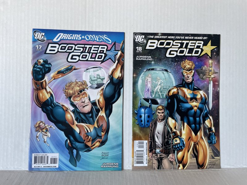 Booster Gold #17 & 18 (2009) Unlimited Combined Shipping