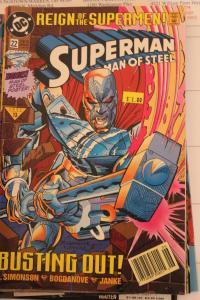Superman the Man of Steel 22 NM