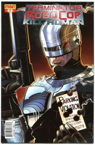 TERMINATOR ROBOCOP Kill Human #1 2 3 4, NM-, Robot, Cyborg, 2011, more in store