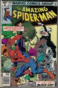Amazing Spider-man #204 (Marvel, 1980) VF/NM