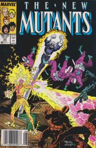 New Mutants, The #54 (Mark Jewelers) FN; Marvel | save on shipping - details ins