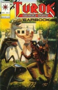 Turok: Dinosaur Hunter (1993 series) Yearbook #1, NM + (Stock photo)