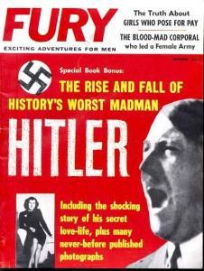 FURY 1961 DEC-HITLER DEATH PHOTOS/NAZIS/SICK FN