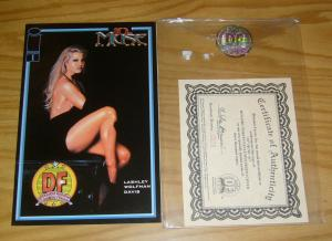 10th Muse #1 VF/NM dynamic forces rena mero photo variant w/COA (578/3000)