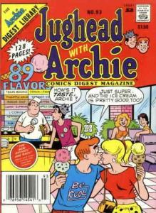 Jughead with Archie Digest Magazine #93 VF; Archie   save on shipping - details