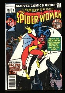 Spider-Woman (1978) #1 NM 9.4 New costume and origin!