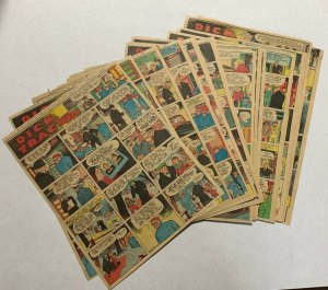 Dick Tracy Newspaper Comics Strip 1937 52 Total Pages Complete