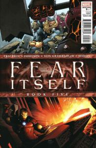 Fear Itself #5 VG; Marvel | low grade comic - save on shipping - details inside