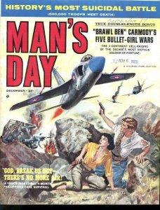MAN'S DAY 1960 DEC-#1-TOM MIX/BASIL GOGOS ART VF
