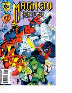 Lot Of 2 Comic Books Amalgam Magneto Magnetic Men #1 and JLX #1DC1