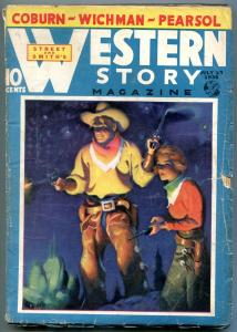 Western Story Magazine Pulp July 23 1938- Walt Coburn VG