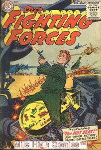 OUR FIGHTING FORCES (1954 Series) #4 Good Comics Book