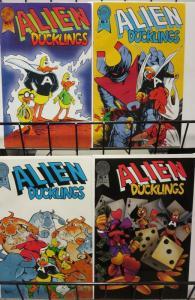 ALIEN DUCKLINGS  (1986-1987 BL) 1-4  Funny Animals!
