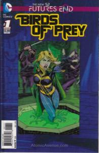 Birds of Prey: Futures End #1 VF/NM; DC | save on shipping - details inside