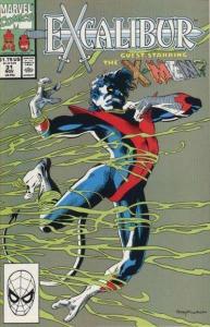 Excalibur (1988 series) #31, NM- (Stock photo)