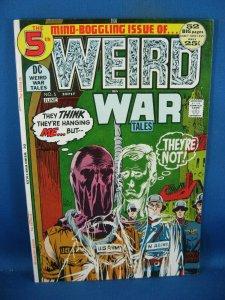 WEIRD WAR TALES 5 VF TOTH HEATH 1972