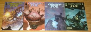 Common Foe #1-4 VF/NM complete series WWII AMERICANS + GERMANS VS DEMONS giffen
