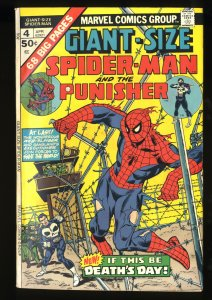 Giant-Size Spider-Man #4 FN+ 6.5 3rd Punisher!
