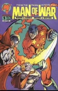MAN OF WAR (1993 Series) #5 DIRECT Near Mint Comics Book