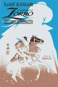 Lone Ranger & Zorro, The: Death of Zorro #3B VF; Dynamite   save on shipping - d