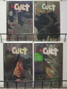 BATMAN THE CULT BOOKS 1-4  STARLIN  & WRIGHTSON