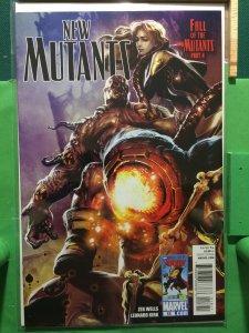 New Mutants #18 2009 series Fall of the New Mutants part 4