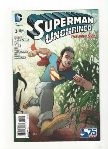 Superman Unchained #3 Lee Moder Variant New 52 Unread NM DC Comics
