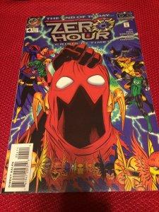 Zero Hour #4 DC Comics Crisis In Time (1994) NM