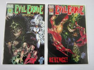 Evil Ernie: Revenge (Chaos! Comics) Set:#1+2, 8.0/VF (1994)